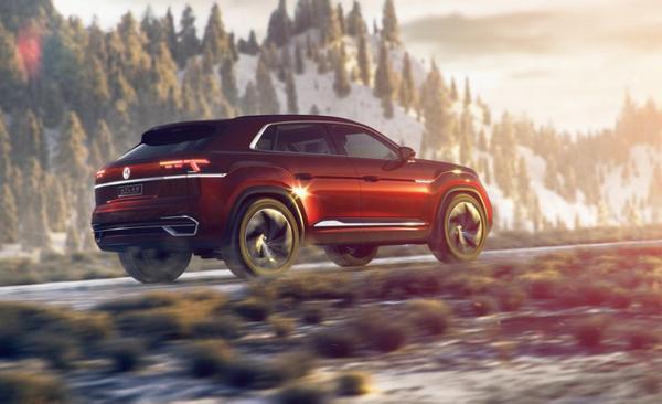 Nouveau modèle VW Atlas Cross Sport 2020
