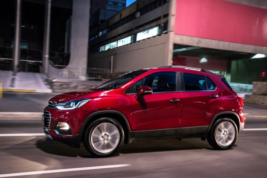 Nouveau modèle Chevrolet Tracker 2020