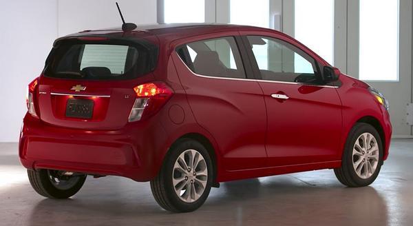 Nouvelle Chevrolet Spark 2021