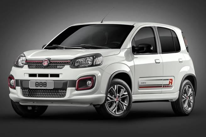 Nouveau modèle Fiat Uno 2020