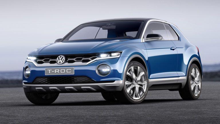 Nouveau modèle Volkswagen T-Roc 2020