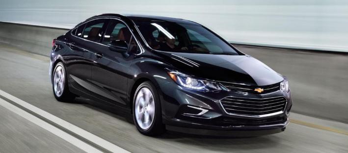 Nouveau modèle Chevrolet Cruze 2020