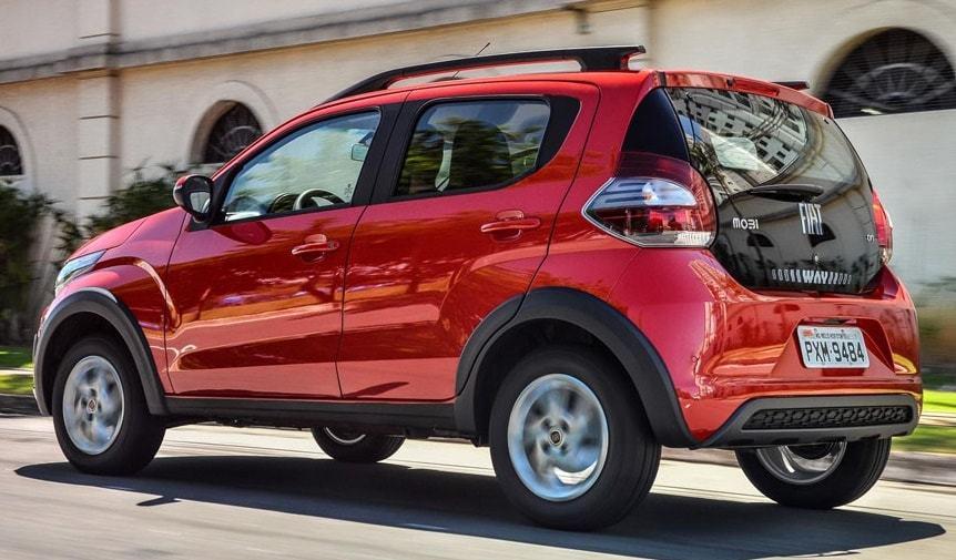 Nouvelle Fiat Mobi 2021