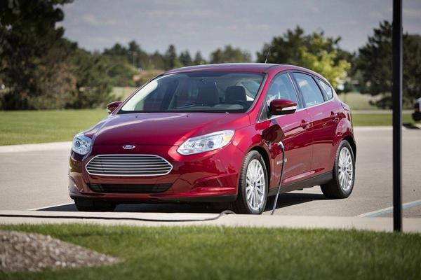 Ford Focus électrique 2021