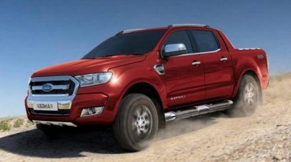 Nouvelle Ford Ranger 2021