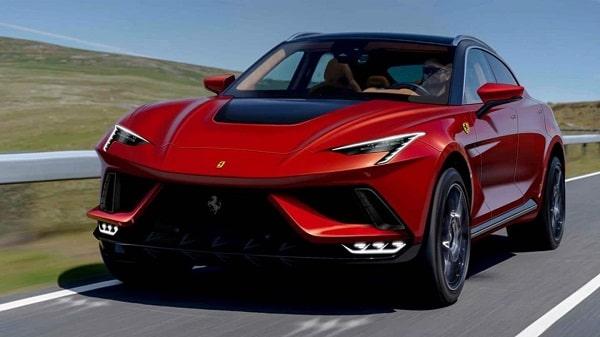 Ferrari Purosangue SUV 2022