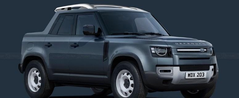 Land Rover Defender Pickup 2022