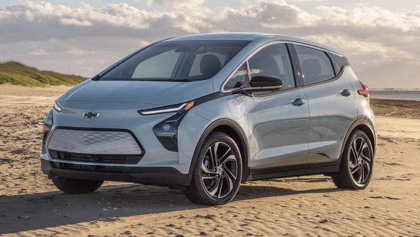 Chevrolet Bolt EV et Bolt EUV 2022